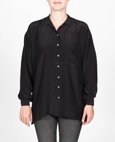 R-Collection Silk shirt