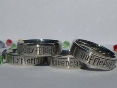 House Ring / Dormitory Ring / Class Ring by GoodMommyLtd on Etsy, $27.50  I want a Ravenclaw ring!