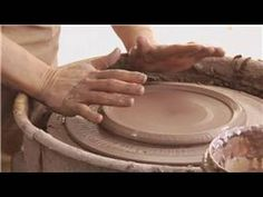 """Making Ceramic Plates & Platters : Ceramic Plate Throwing"""