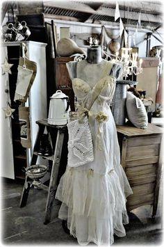 Antique white love.