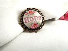 Gorgeous items in Pink to honor: October is Breast Cancer Awareness Month by Carla Bange on Etsy