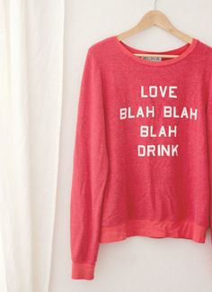 Wildfox sweatshirt for lounging with your galentines | A Fabulous Fete