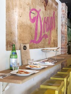 dough pizzeria {located in perth} #restaurantdesign