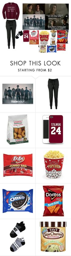 """""""Watching Teen wolf"""" by love-5secondsofsummer ❤ liked on Polyvore featuring Episode, Markus Lupfer, CO, West Bend, Victoria's Secret and Juliska"""