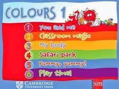 """Recursos Educativos de Primaria: """"Colours 1"""" de Editorial SM y Cambridge University Press"""