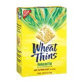 Reduced Fat Wheat Thins (with laughing cow cheese wedge...awesome!)