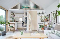 Villa style town homes in Stockholms Husarviken Bay House Design, Tiny House Inspiration, House Inspiration, Home, Scandinavian Home, House, Small Space Inspiration, Beautiful Small Homes, My Scandinavian Home