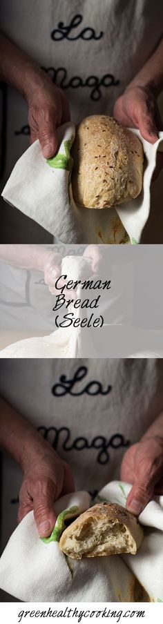 "A recipe for authentic German Bread called ""Seele"" which means soul and is a chewy dense delicious bread. The soul of South German cuisine!"