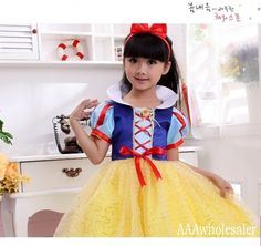 >> Click to Buy << 2017 cosplay Snow White Costumes fantasias 80cm-160cm Princess Dress New Year Halloween Christmas Costumes For Kids Girl Dresses #Affiliate