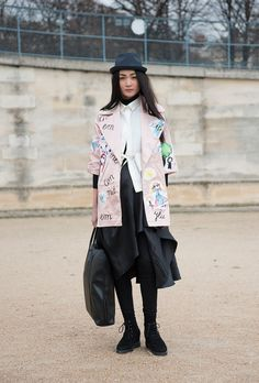 The Best Street Style Outfits at Paris Fashion Week Fall 2016 @stylecaster