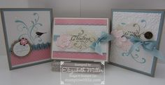 Cards using the Everything Eleanor stamp set.