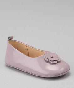 Loving this Lavender Daisy Patent Ballet Flat on #zulily! #zulilyfinds