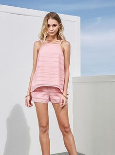 Finders Keepers Brixton Top – Blush