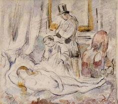Olympia - by Paul Cezanne #cezanne #paintings #art