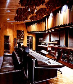 Very early shot of Paisley park studio B control room..(1987 i think).