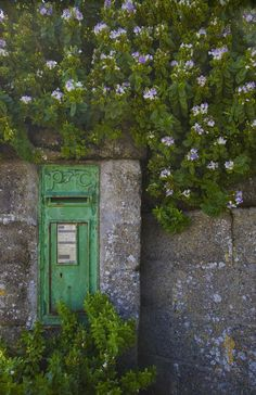 Postbox at Boatstrand, Copper Coast, County Waterford, Ireland' by Panoramic Images