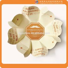 HOT sale!!! high quality creative potato chips/food paper packaging box/bag