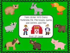 Farm Action Verb Dance
