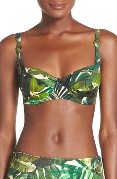Underwire Balcony Bikini Top
