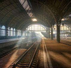 Санкт-Петербург. Витебский вокзал. Октябрь…