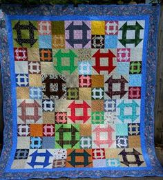 Image result for half square triangle quilts