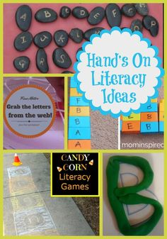 Life with Moore Babies: Hand's On Literacy Activities from Mom's Library
