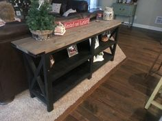 Ana White | Sofa table - DIY Projects
