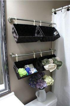 Экономия места в ванной