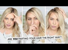 How to Figure Out Where to Part Your Hair