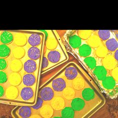 Sugar cookies for Fat Tuesday