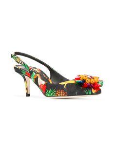 Dolce & Gabbana Embellished Bellucci Pumps - Farfetch