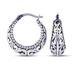 FarryDream Thai Silver Retro Rose Flowers Ring for Women Teen Girls Dainty Ring