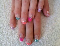 gel polish xx with bubbles nail art x