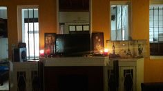 Burning scented candles in the morning is so therapeutic