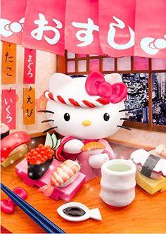 Hello Kitty SUSHI 3D Lenticular Greeting Card / Hello Kitty 3D Postcard Sanrio http://www.amazon.com/dp/B00UV8R5JA/ref=cm_sw_r_pi_dp_1RNdvb0GKNQ4B