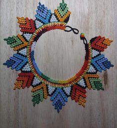 Bead Loom Bracelets, Loom Beading, Diy And Crafts, Crochet Necklace, Necklaces, Beads, Jewelry, Seed Beads, Bracelets
