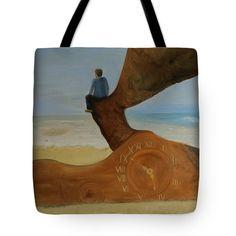 Subjective time Tote Bag for Sale by Ildiko Mecseri Inspirational Artwork, Poplin Fabric, Bag Sale, Fine Art America, Fine Art Prints, Greeting Cards, Thing 1, Tote Bag, Stitch