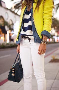 style: stripes down under