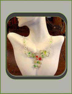 Holiday FashionHoliday JewelryChristmas by ArtistiCreationsRose