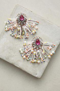 Shourouk Color Burst Drop Earrings #ad