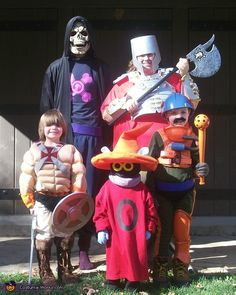 He-Man & Masters of Universe - 2012 Halloween Costume Contest