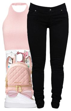 """JOIN MY GROUP TRILL SETS"" by daijahhill25 ❤ liked on Polyvore featuring Michael Kors, Puma and Dollydagger"