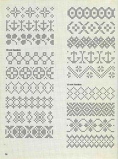 Alice Starmore Book of Fair Isle Knitting — Яндекс. Cross Stitch Borders, Cross Stitch Charts, Cross Stitch Designs, Cross Stitch Embroidery, Embroidery Patterns, Cross Stitch Patterns, Fair Isle Knitting Patterns, Knitting Charts, Knitting Stitches