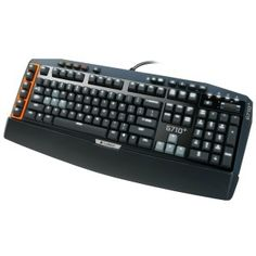 Cyber Monday 2013 Logitech Mechanical Gaming Keyboard with Tactile High-Speed Keys - Black Sales Deals Pc Gadgets, Electronics Gadgets, Macro Keys, Keyboard Piano, Led, High Speed, Computer Accessories, Computer Keyboard, Shopping