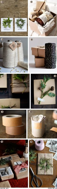 Wrapping ideas   //   FOXINTHEPINE.COM