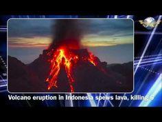 Volcano Mt.Rokatenda erupt, spews lava, killing 6 in Indonesia
