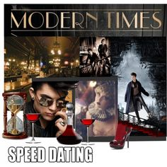 """""""Dating In Modern Times"""" by melange-art on Polyvore"""