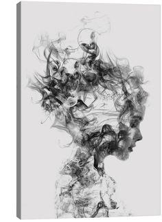 Dissolve Me Wandkunst - Double Exposure Photography, Art Photography, People Photography, Creation Art, Illustration Mode, Art Graphique, Canvas Prints, Art Prints, Art Plastique