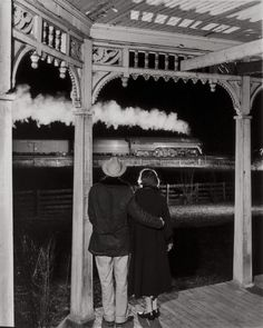 O. Winston Link. The Popes and the Last Steam Passenger Train, 1957