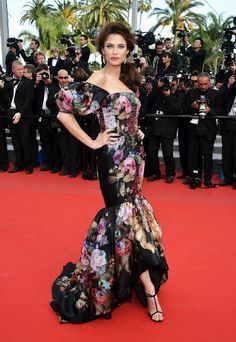 Bianca Balti in Dolce & Gabbana at Cannes (2012)